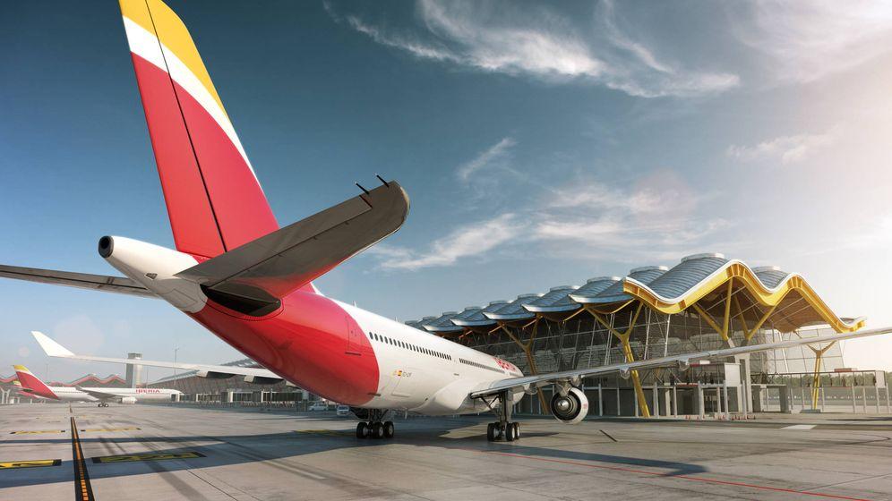 Foto: Aeropuerto de Barajas. (Iberia)