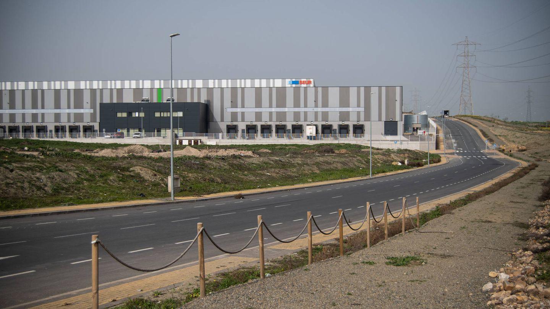 Vista del centro logístico que SEUR ha montado en Illescas. (Carmen Castellón)