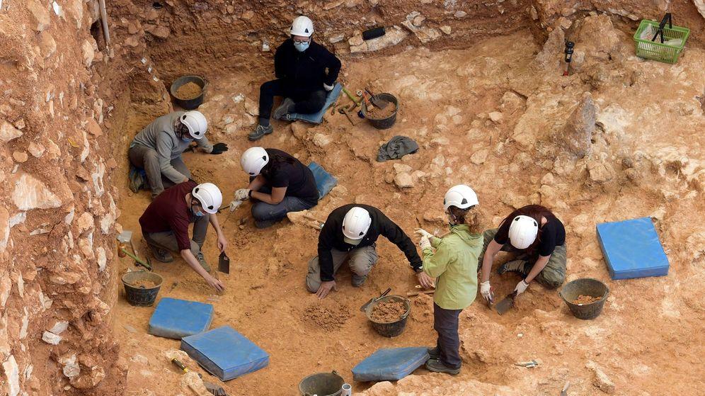 Foto: a nueva campaña de excavaciones en el yacimiento de Atapuerca. (EFE)