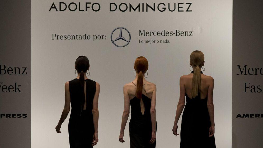 Foto: Adolfo Domínguez presenta sus modelos en México. (GTRES)