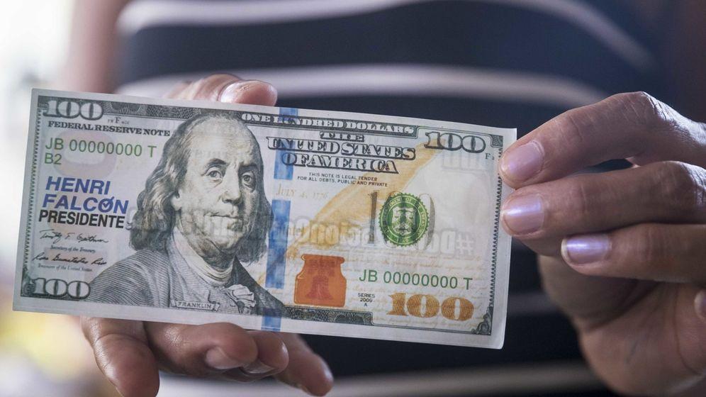 Foto: Un billete falso de 100 dólares. (EFE)