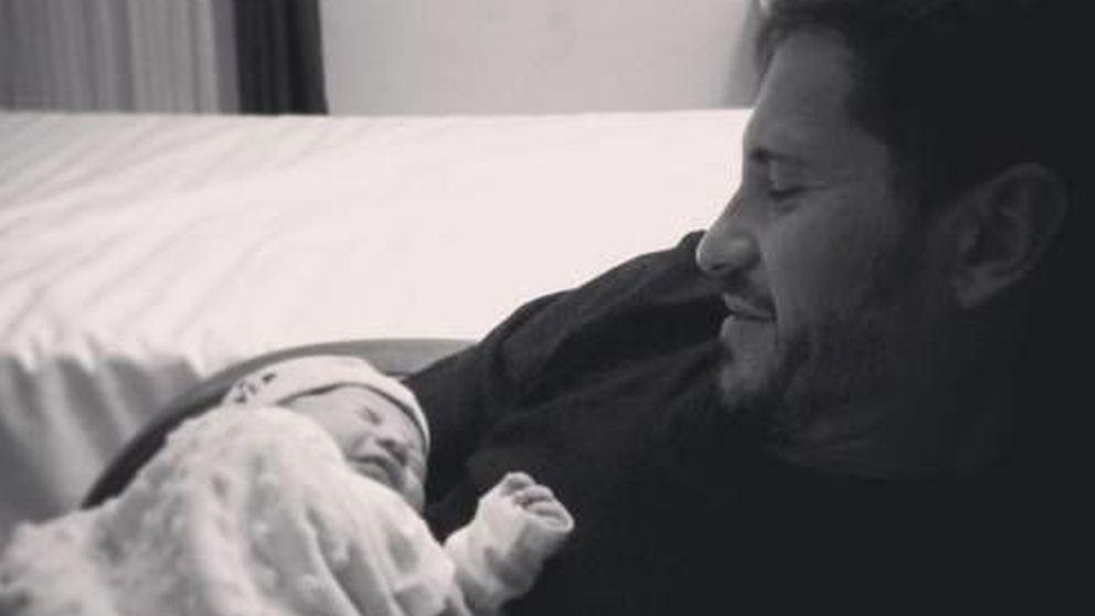 Instagram - David de María y Lola Escobedo, padres de un niño