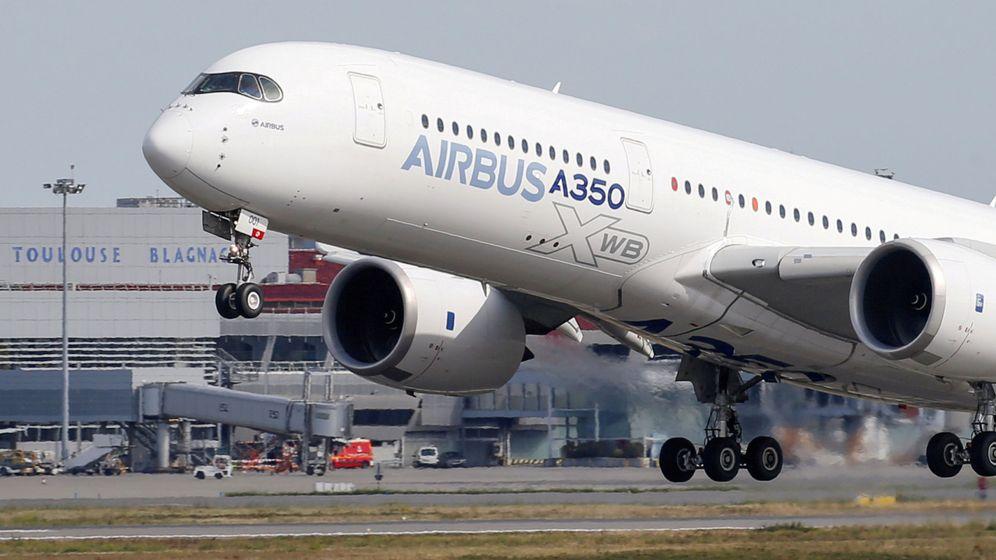 Foto: Un Airbus A350, en Toulouse. (Reuters)