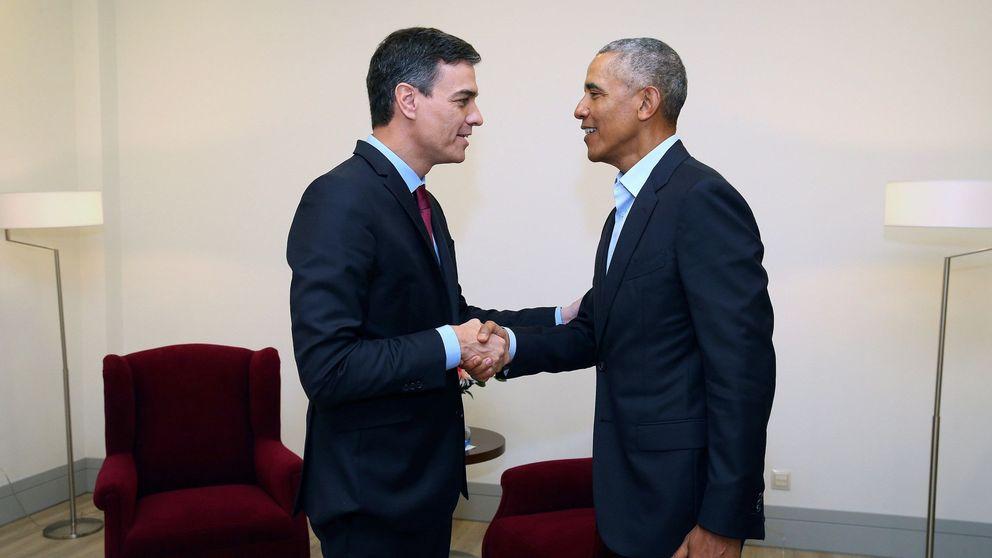 Sánchez se reúne con Obama en la Cumbre Mundial del Turismo de Sevilla