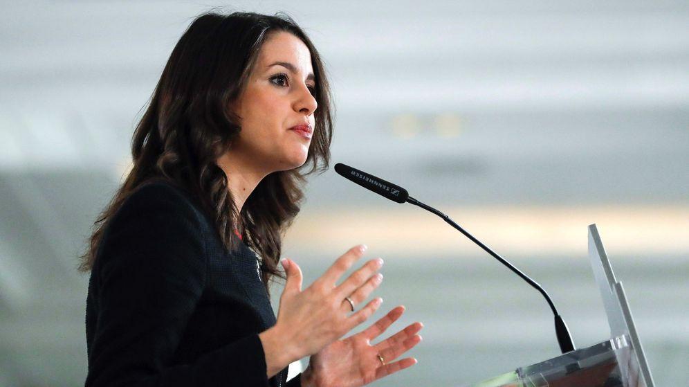 Foto: La cabeza de lista de Ciudadanos en las elecciones del 21 de diciembre, Inés Arrimadas. (EFE)