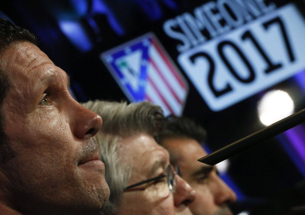 Foto: El proyecto con Simeone al frente del equipo sigue avanzando.