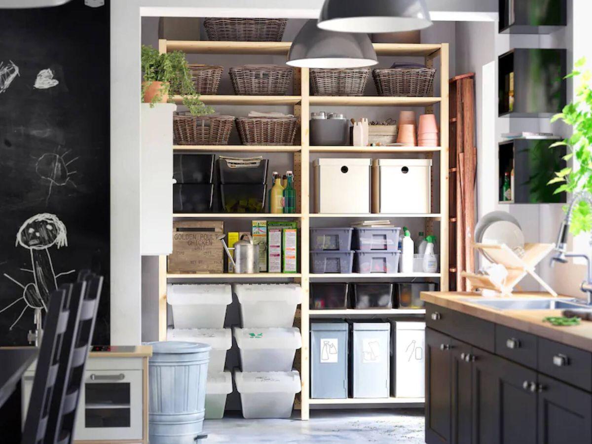 Foto: Así nació y así puedes renovar la estantería superventas de Ikea. (Cortesía)