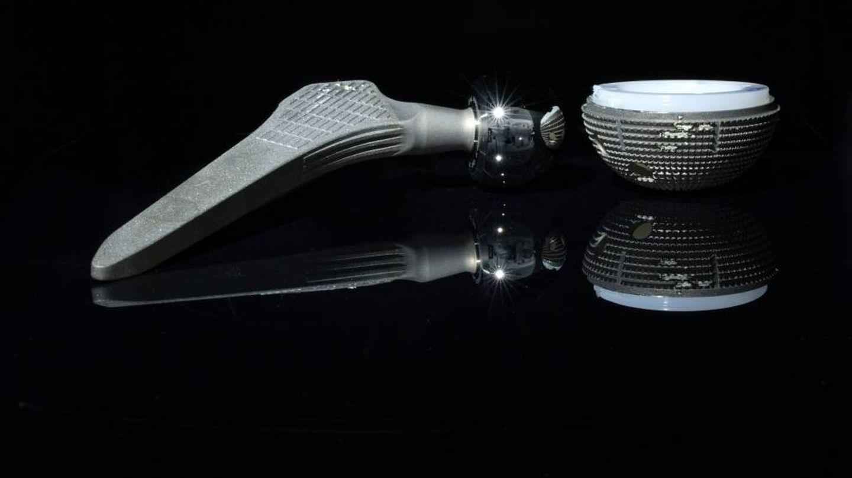 Prótesis de Cadera de Zimmer. Foto cedida por Ostro para The Implant Files.