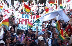 Bolivia, más polarizada aún tras la huelga de seis regiones contra Morales