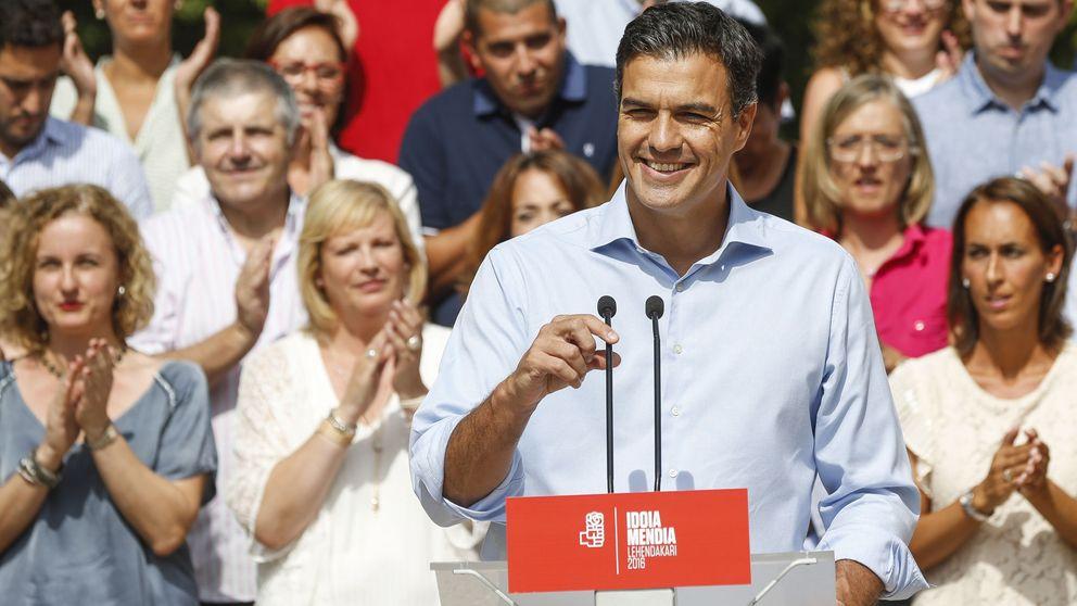 Sánchez pide a Podemos y C's que no den otra oportunidad a Rajoy