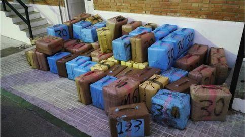 Intervenidas 7,5 toneladas de hachís a una red que operaba en Málaga y Cádiz
