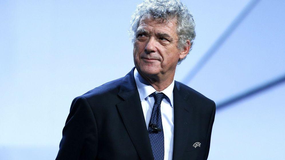 Foto: Villar dimite como vicepresidente de la UEFA y miembro del Comité Ejecutivo. (EFE)