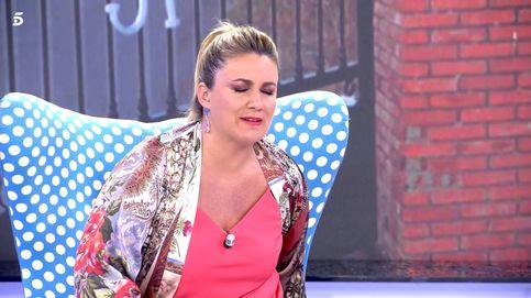 Carlota Corredera, atendida en 'Sálvame' tras sufrir un doloroso percance