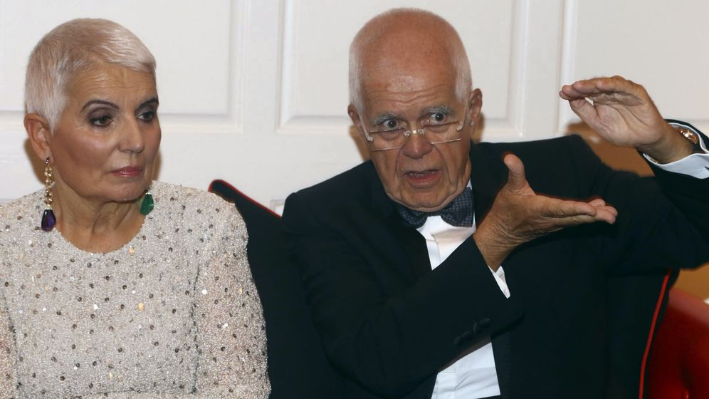 Foto: Los fundadores de la marca, Rosa Oriol y su esposo Salvador Tous, en un acto en EEUU. (EFE)