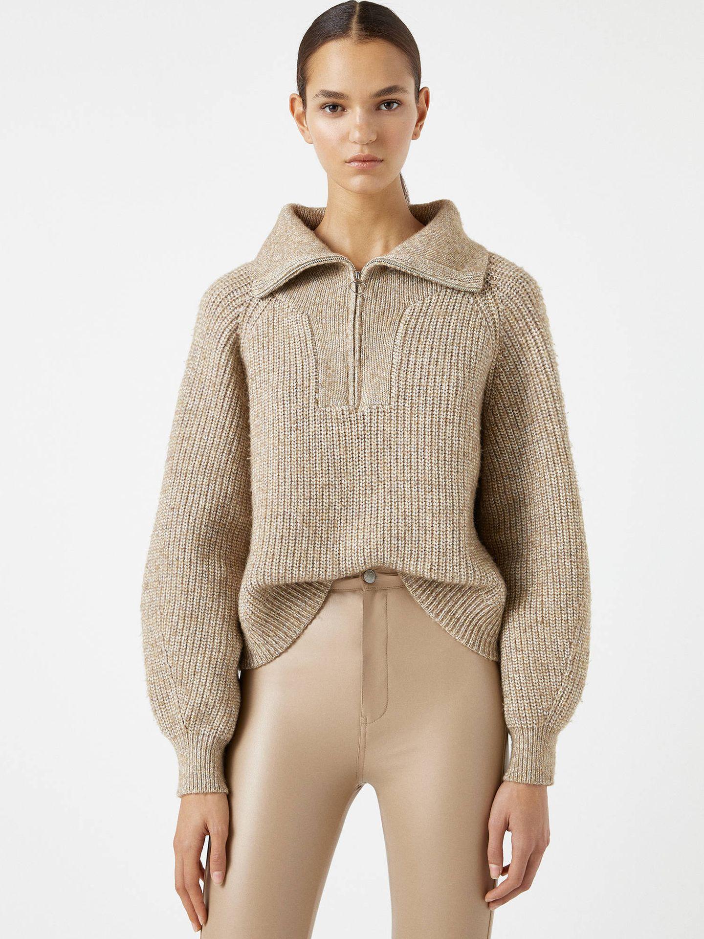 Este jersey de Pull and Bear nunca pasa de moda. (Cortesía)