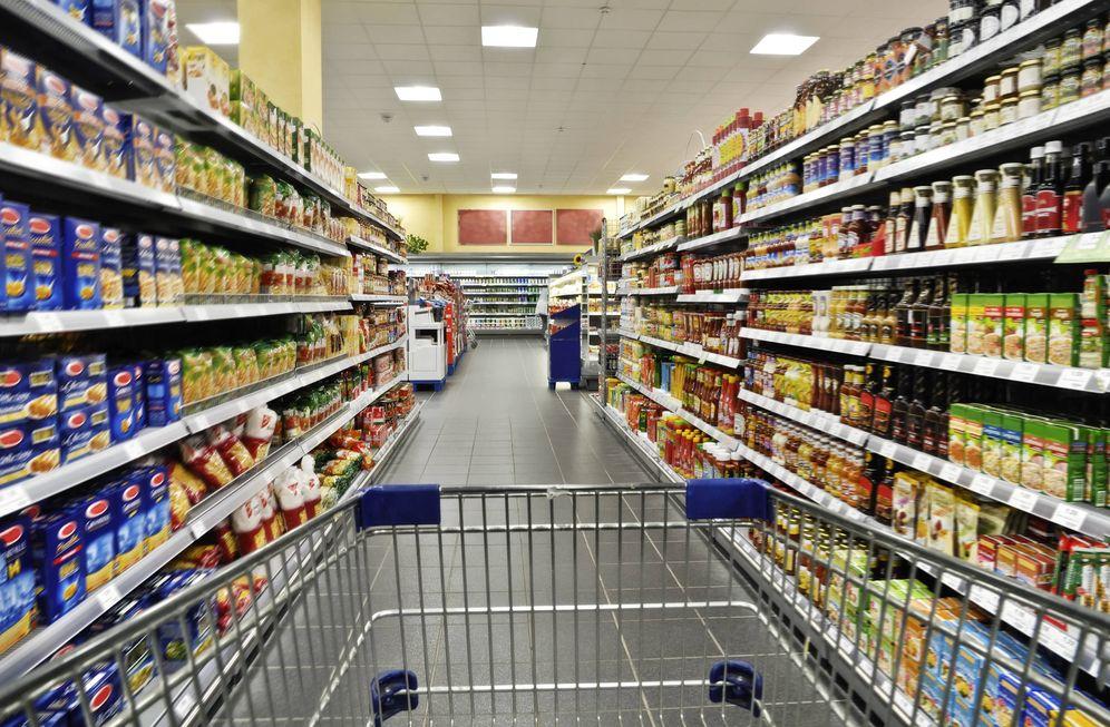 Foto: Productos comestibles en un supermercado (iStock)