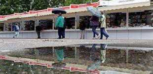 Post de La Feria del Libro de Madrid cierra con una fuerte caída en ventas a causa de la lluvia