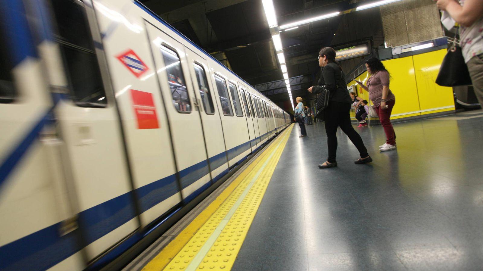 Foto: Una estación de Metro de Madrid (Enrique Villarino)