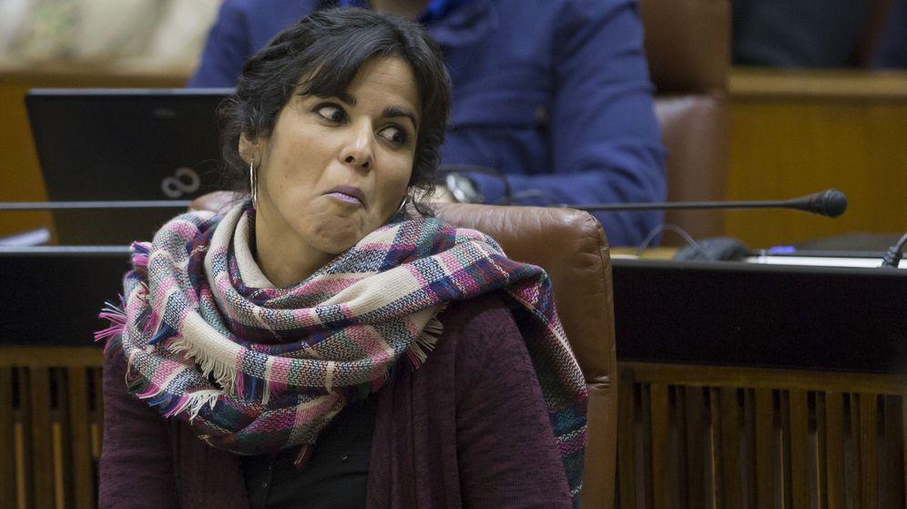 Foto: La líder de Podemos Andalucía, Teresa Rodríguez. (EFE)