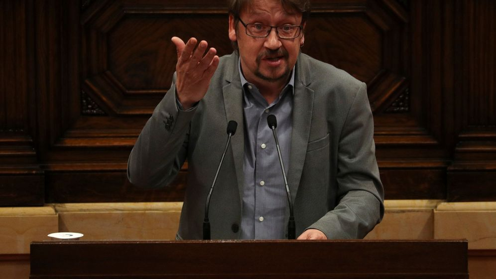 Foto: El líder de CatComú, Xavier Domènech. (Reuters)