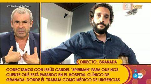 Día 15. Jesús 'Spiriman' Candel: el médico 'estrella' del coronavirus vende crecepelos