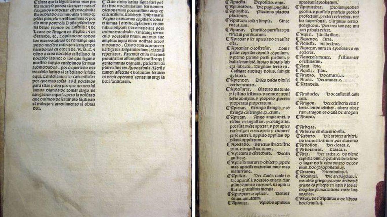 Encuentran el primer diccionario de castellano de la historia