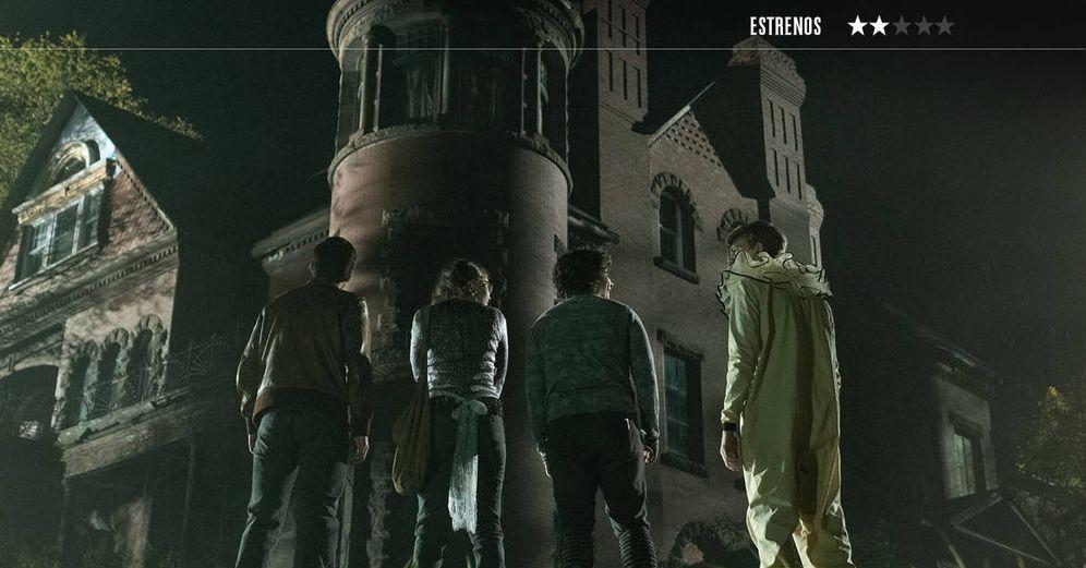 Foto: Zoe Colletti, Gabriel Rush, Michael Garza y Austin Zajur, en 'Historias de miedo para contar en la oscuridad'. (eOne)