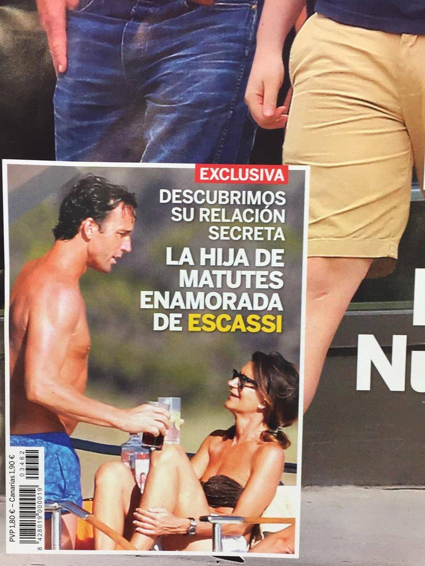 Imagen de la portada de 'Lecturas' con la pareja disfrutando del sol.