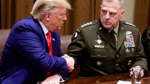 Desengaño militar de Trump: los generales no son los John Wayne que esperaba