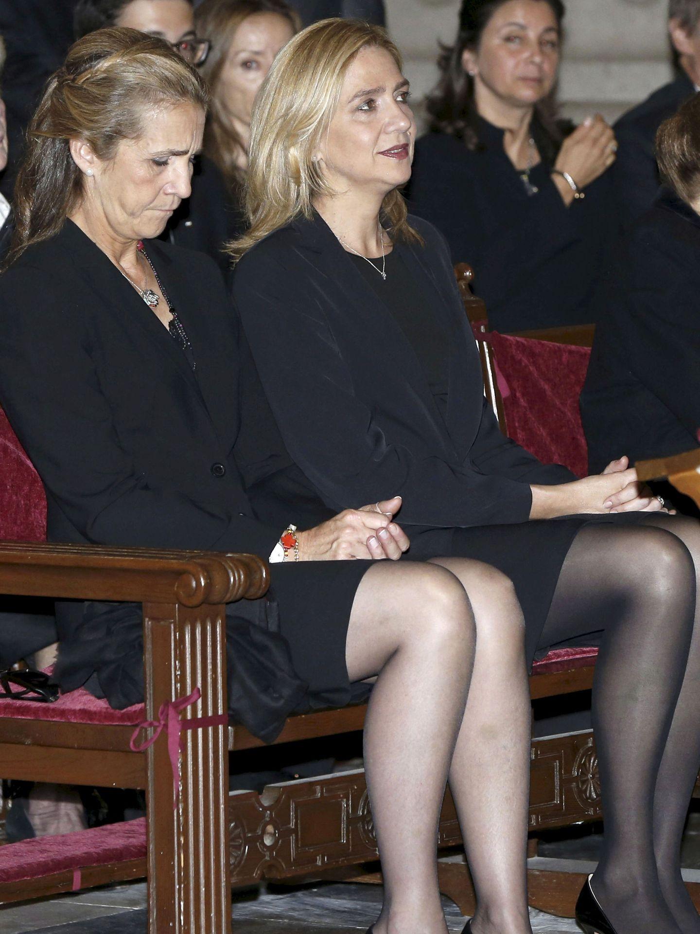 Las infantas Elena y Cristina. (Getty)