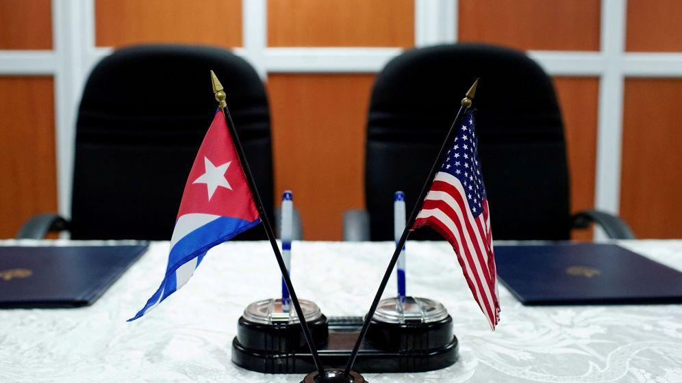 Foto: Foto de archivo de un encuentro en la Habana entre mandatarios de Cuba y EEUU. (Reuters)