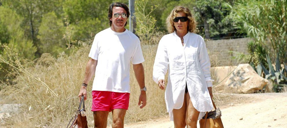 Nueva guarida para los Aznar con un muro 'antipaparazzi'