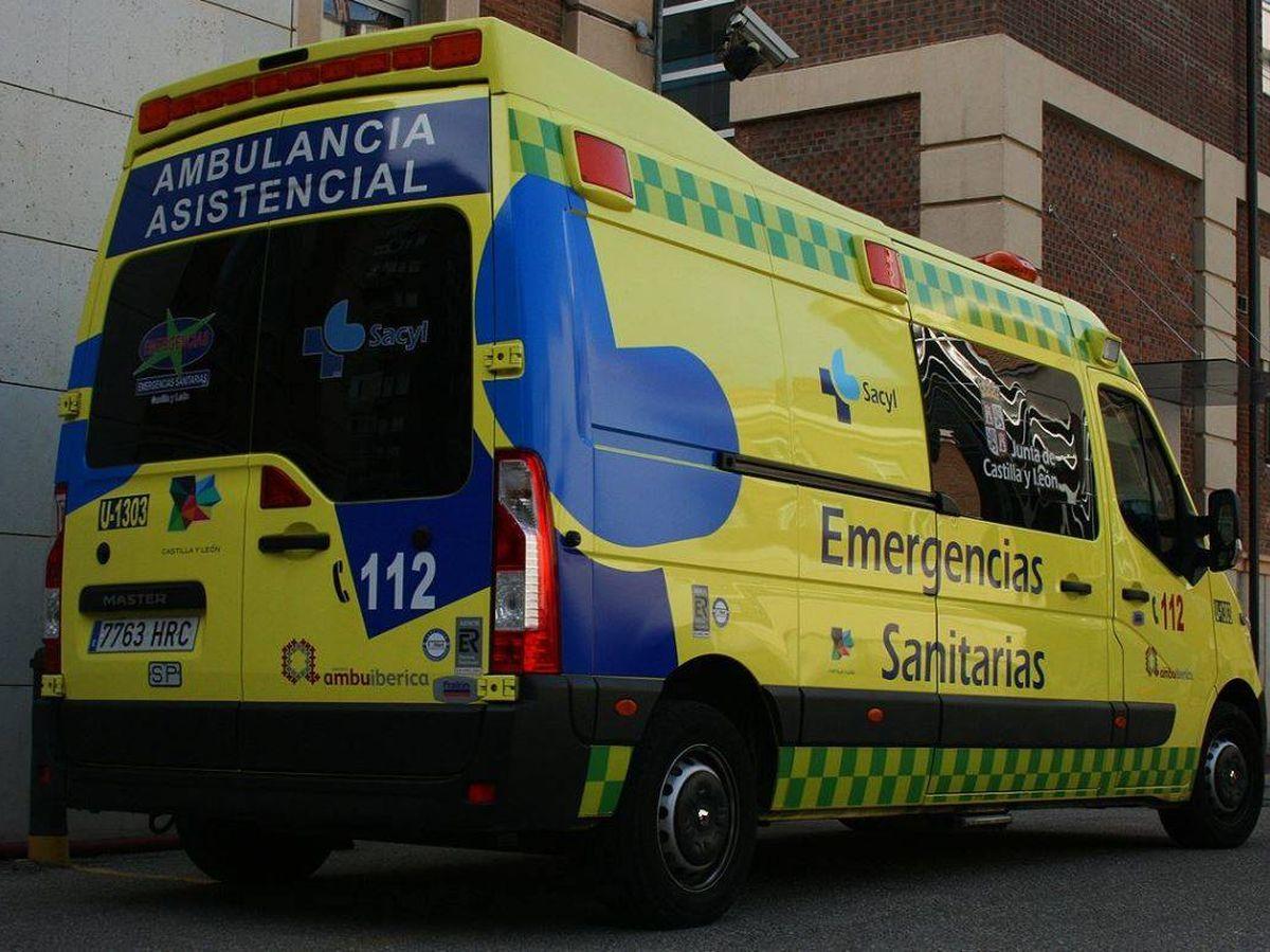 Foto: Una ambulancia en Salamanca (112 Castilla y León)