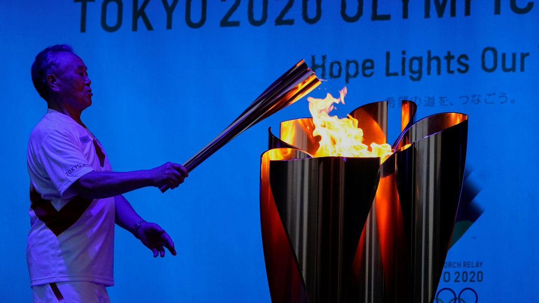 La antorcha olímpica, aunque en pequeña cantidad, sigue emitiendo CO?. (Reuters)
