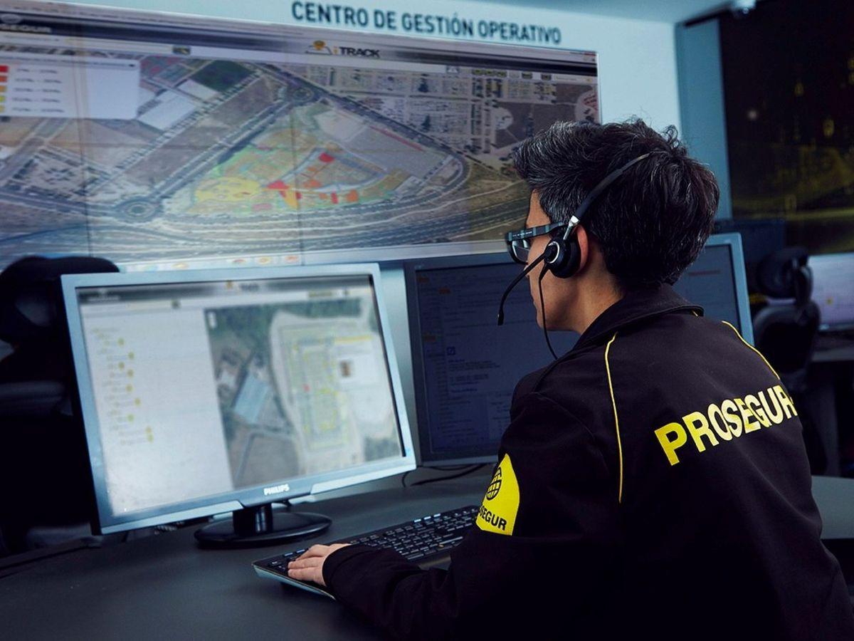 Foto: Centro de vigilancia de Prosegur