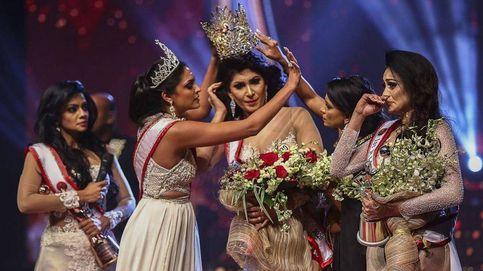 Arrebatan por la fuerza la corona a Miss Sri Lanka tras enterarse de que está divorciada