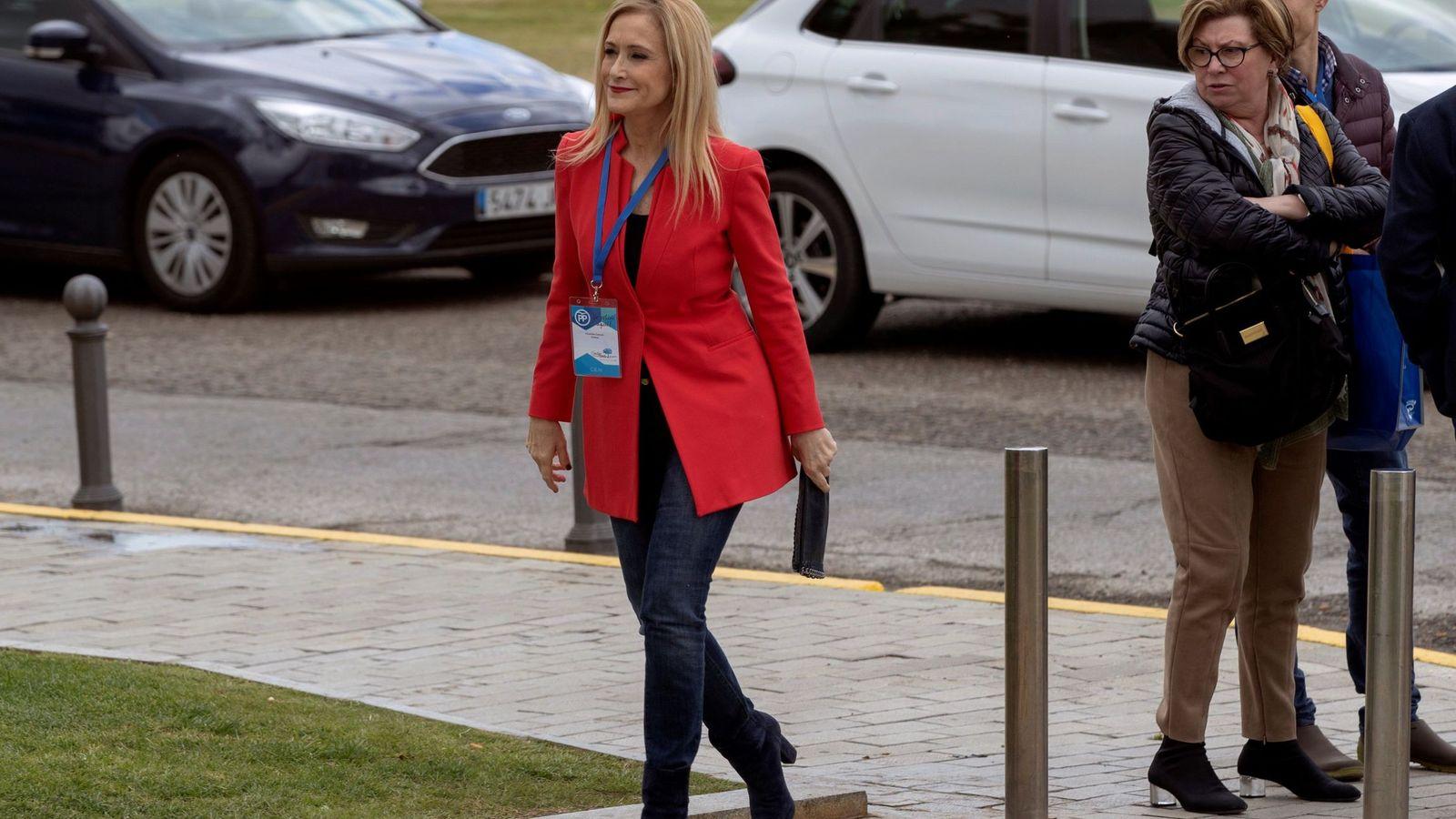 Foto: La presidenta de la Comunidad de Madrid, Cristina Cifuentes. (EFE)
