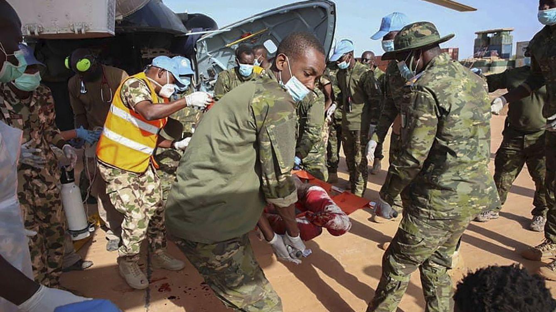 Al menos seis soldados y treinta yihadistas muertos tras un doble ataque en Mali