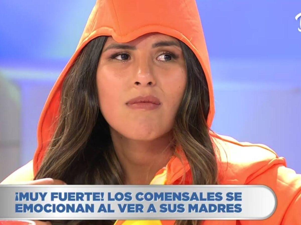 Foto: Chabelita, en 'La última cena'. (Telecinco).