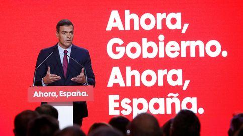 'Ahora, Gobierno, ahora, España': Sánchez se presenta como la receta contra el bloqueo