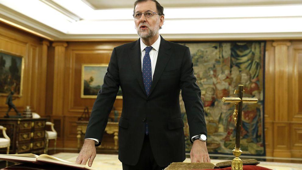 En imágenes: Mariano Rajoy jura su cargo como presidente del Gobierno ante el Rey