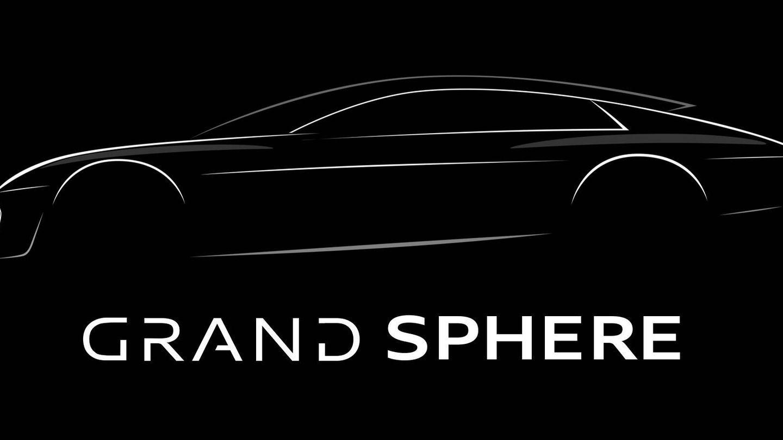 El Audi Grandsphere, avance de un lujoso modelo que aparecerá a mediados de esta década, será presentado en septiembre en Munich.