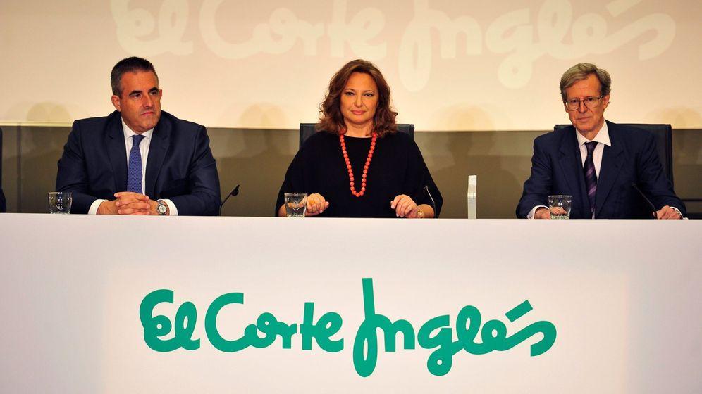 Foto: La presidenta de El Corte Inglés, Marta Álvarez, junto al consejero delegado del Retail de la empresa, Víctor del Pozo. (EFE)