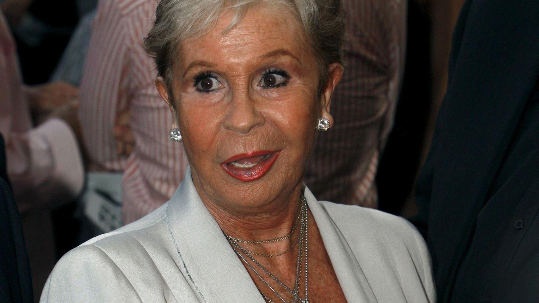 Lina Morgan en una imagen de archivo. (EFE)