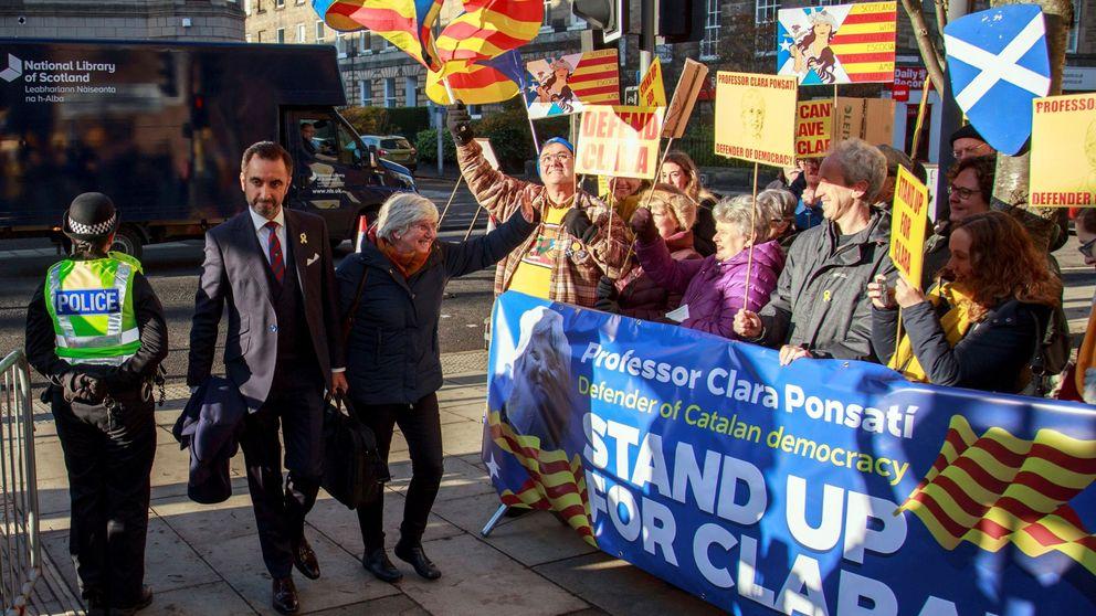 Ponsatí queda en libertad provisional en Escocia y volverá a declarar en diciembre