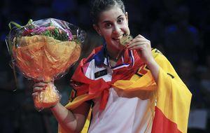 Carolina Marín lidera el plante de los jugadores contra la FESBA