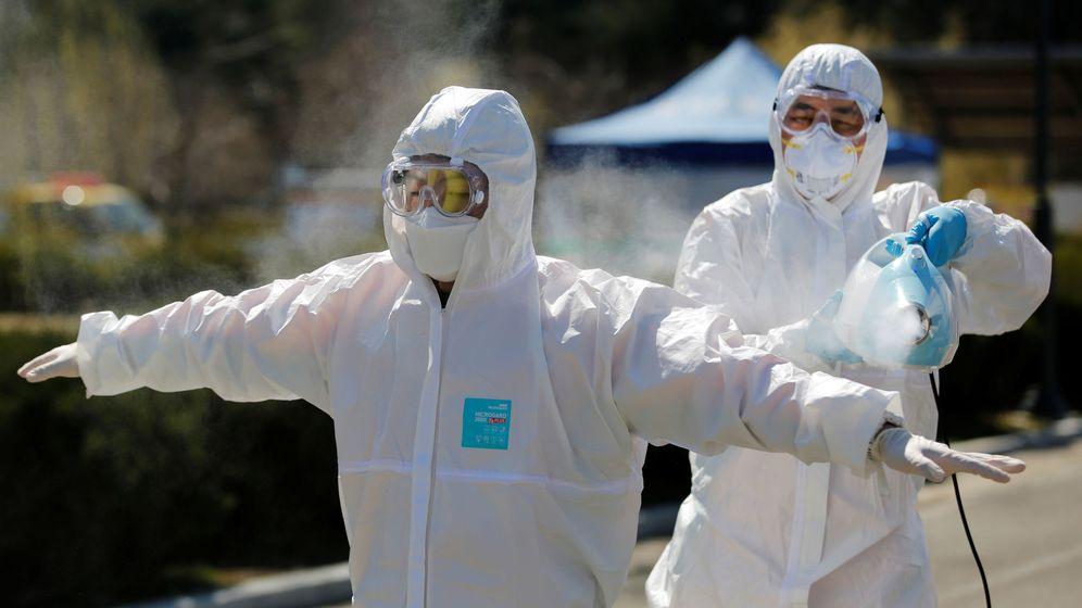 Foto: Coronavirus en Daegu, Corea del Sur. (Reuters)