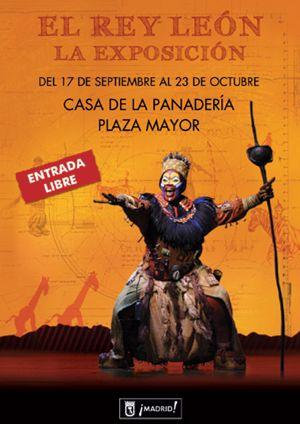 El estreno del musical 'El Rey León' se adelanta con una exposición