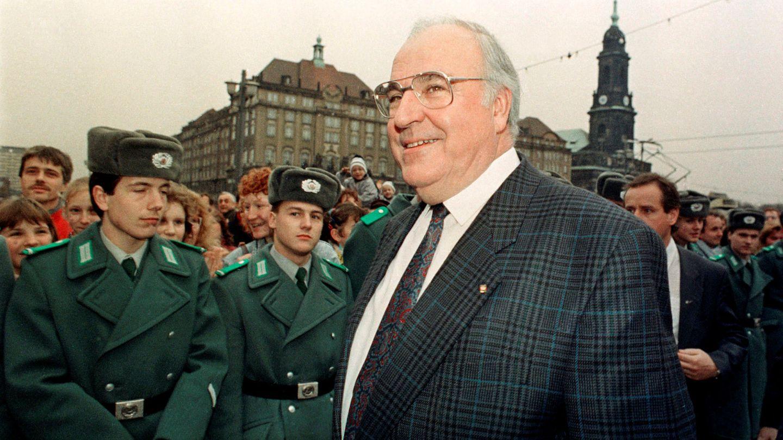 Foto de archivo del entonces canciller alemán Helmut Kohl en 1989. (Reuters)