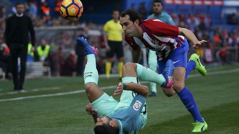 Las mejores imágenes del último Atlético - Barcelona en el Vicente Calderón